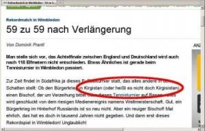 Jaaahaaa, Süddeutsche ... jaaahaaa!!!